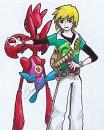 Trainer, Porygon-Z und Scherox