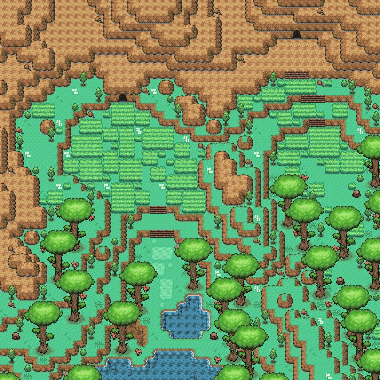 Pokémon-Map: Alistärenhang