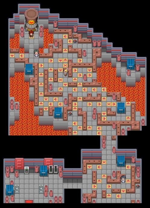 Pokémon-Map: Feurio-Arena