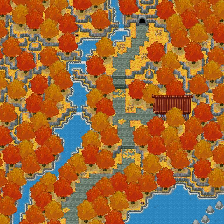 Pokémon-Map: Rotgoldene Inspiration