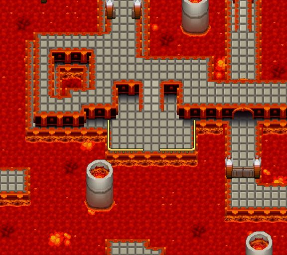 Pokémon-Map: Wieder einmal Lava