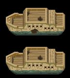 Pokémon-Tileset: Schiffswrack (BW Style)
