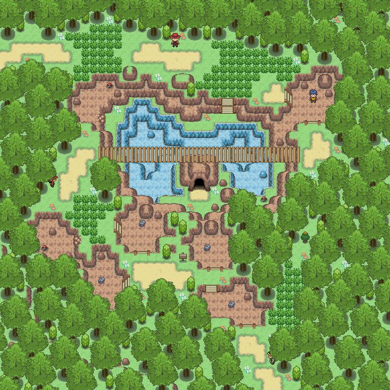 Pokémon-Map: Remake R120 Nord