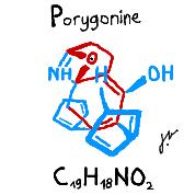 Pokémon-Zeichnung: Porygonin