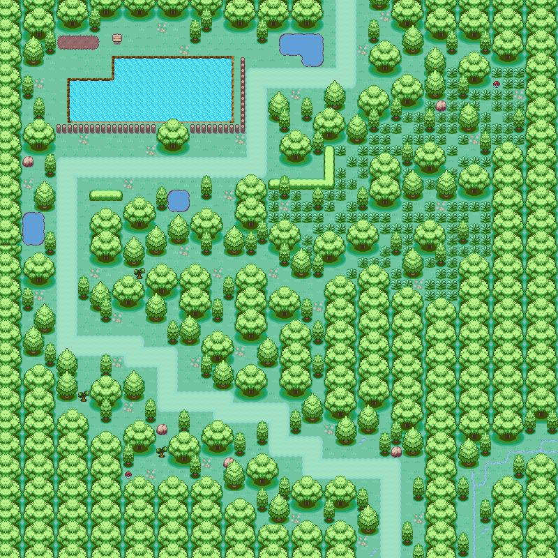 Pokémon-Map: Testmap mit neuen Tiles