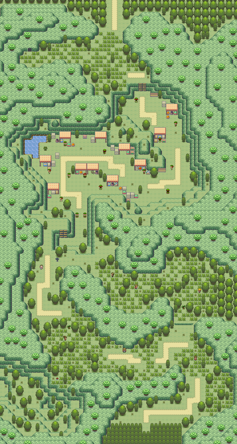 Pokémon-Map: Route 18