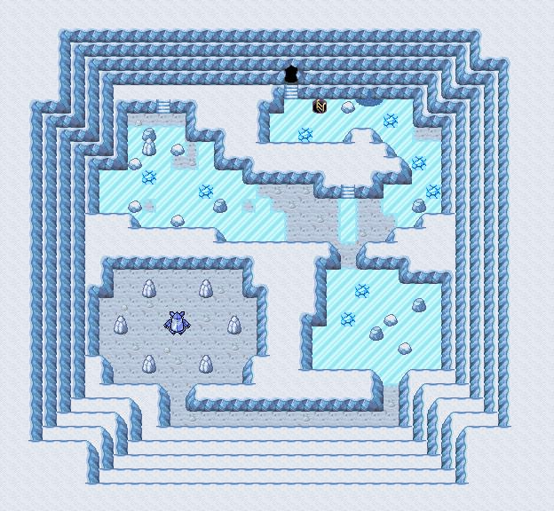 Pokémon-Map: Regice-Höhle
