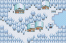 Winterliche Kleinstadt