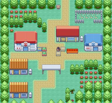 Pokémon-Map: Ebenfeld