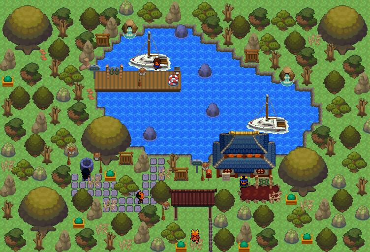 Pokémon-Map: HG/SS Tileset, erster versuch