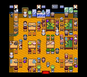 Pokémon-Map: Restaurant/Casino - Essenstileset test