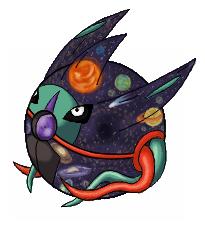 Pokémon-Zeichnung: Pokeball - Outer Space