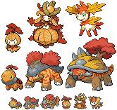 Pokémon-Sprite: Herbst-Ados 2011