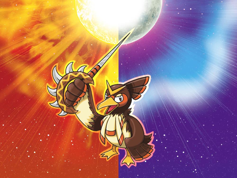 Pokémon-Fanart: Alola-Porenta Challenge/21