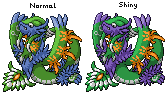 Pokémon-Sprite: Endroh Dex #597 - Quetawico (legendär)