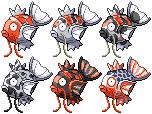 Pokémon-Sprite: Animal-Style - Karpador (Teil 1)