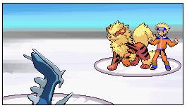 Pokémon-Fanart: Naruto Kampf