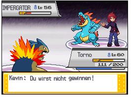 Pokémon-Fanart: Rivalen Kampf
