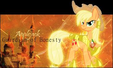 Pokémon-Fanart: Applejack - Guardian of Honesty