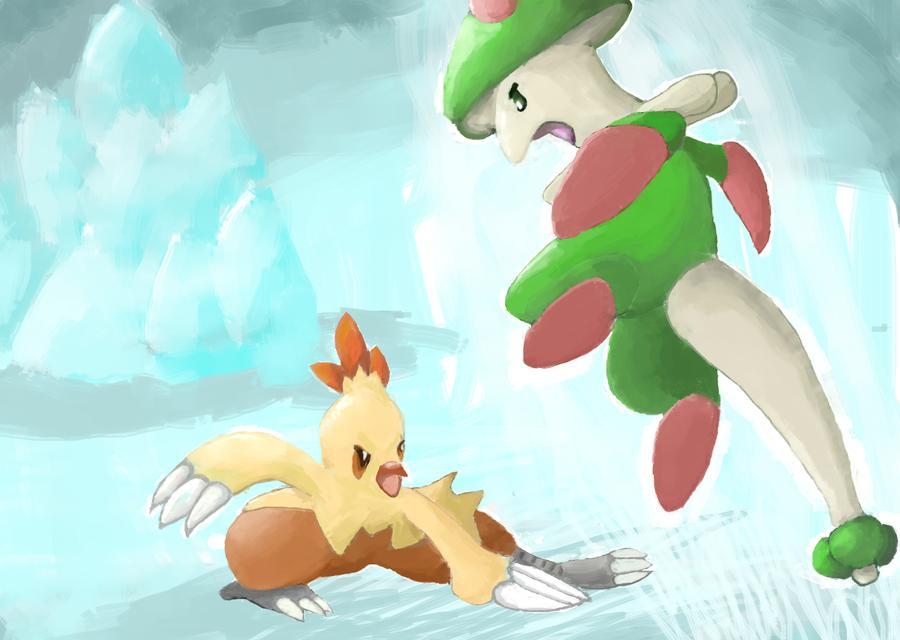 Pokémon-Zeichnung: Showdown