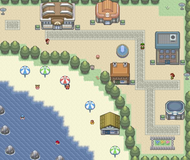 Pokémon-Map: Carendoy City
