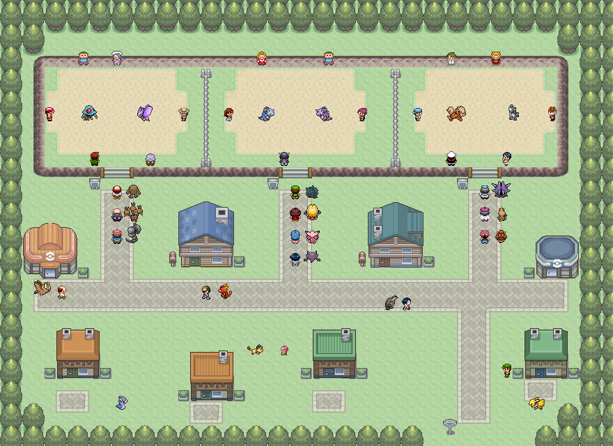 Pokémon-Map: Fight City