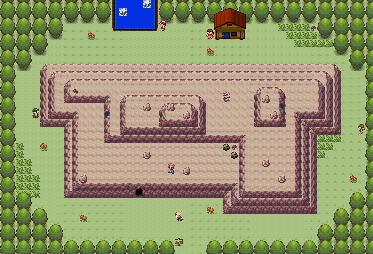 Pokémon-Map: WB Berg