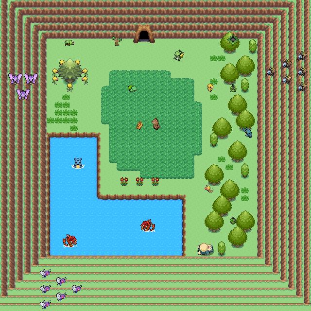 Pokémon-Map: Pokemonhöhle
