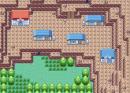 Kleines Dorf in den Bergen