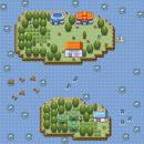 Zwei Inseln im Meer