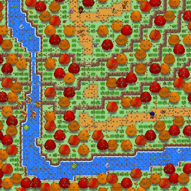Pokémon-Map: Herbstroute