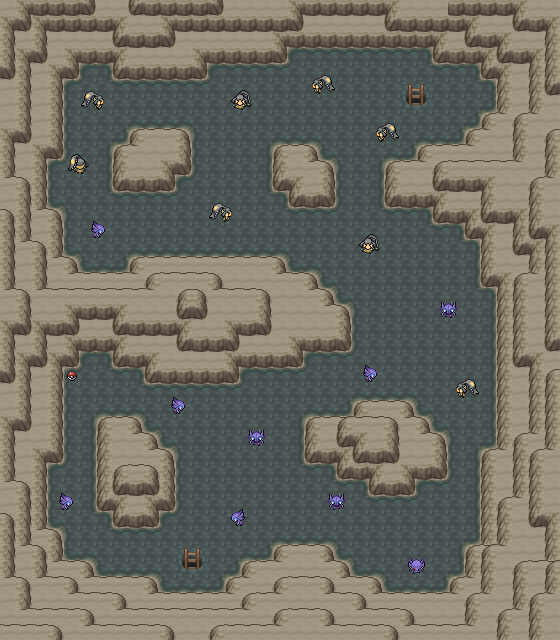 Pokémon-Map: Flunkbiris und Zokiefer