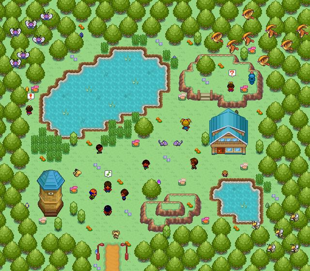 Pokémon-Map: Suche die Eier!