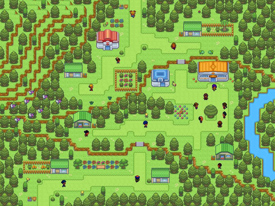 Pokémon-Map: Natural City