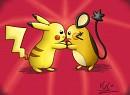 Pikachu VS Dedenne