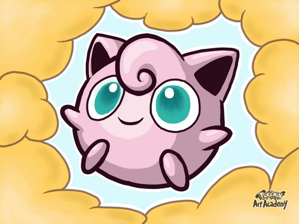 Pokémon-Zeichnung: Pummeluff