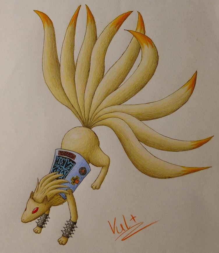 Pokémon-Zeichnung: Metalnona