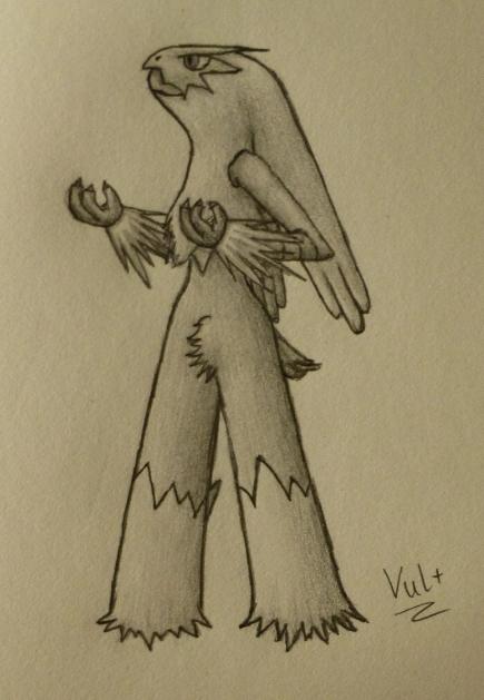 Pokémon-Zeichnung: Lohgock