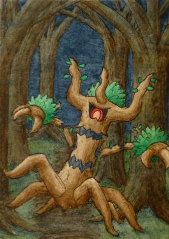 Pokémon-Zeichnung: Trombork
