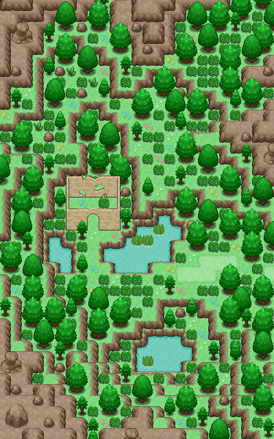 Pokémon-Map: Random as fuck