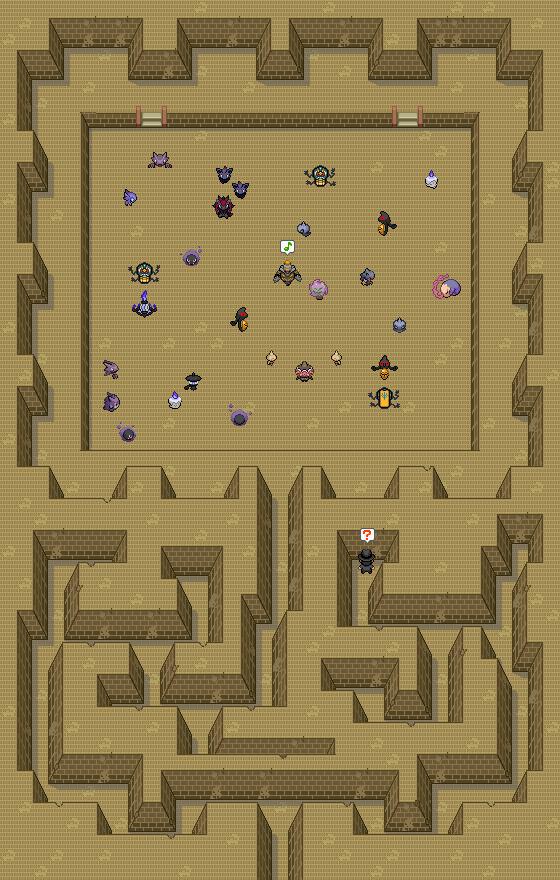 Pokémon-Map: Geister-Party
