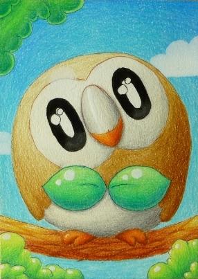 Pokémon-Zeichnung: Bauz