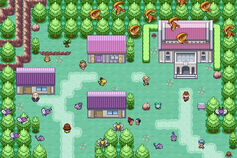 Pokémon-Map: Random Dorf