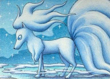 Pokémon-Zeichnung: Alolanona