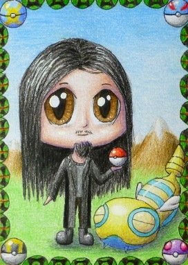Pokémon-Zeichnung: Magidactyl