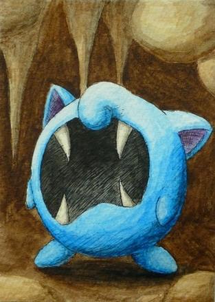Pokémon-Zeichnung: Zupuff