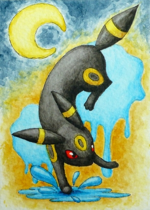 Pokémon-Zeichnung: Nachtara
