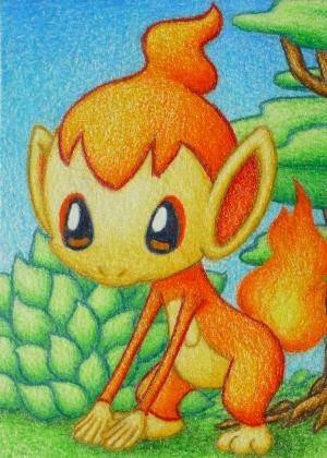 Pokémon-Zeichnung: Panflam