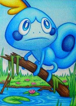 Pokémon-Zeichnung: Memmeon