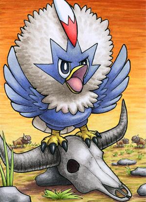 Pokémon-Zeichnung: Geronimatz